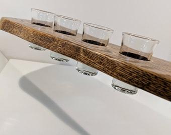 Reclaimed Oak Shot Paddle