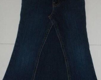 MTO Girls Jeans Skirt