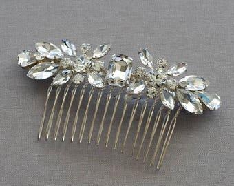 Bridal comb, Carly Bridal Headpiece, Wedding headpiece