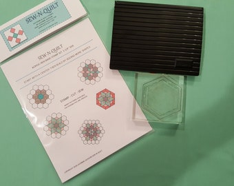 "Quilt stamp Kit 1-1/4"" set"
