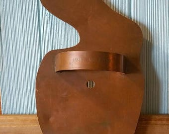 "Martha Stuart Extra Large ""hatching Bunny"" pure copper cookie cutter / OVERSIZED/ Martha Stuart Living"