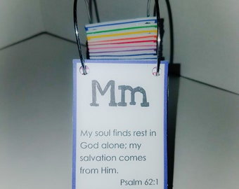 ABC Bible Verses Flash Cards