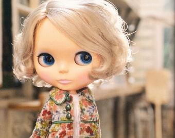 Blythe Doll E Pattern Japanese PDF Coat Blouse\Top Short Pants Socks