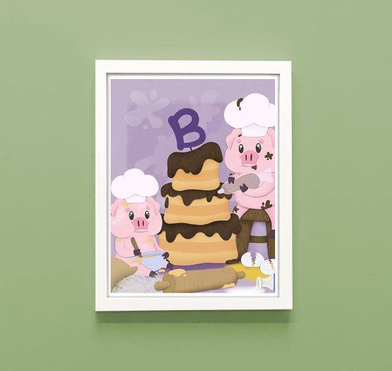 nursery rhyme patty cake print nursery rhyme print nursery