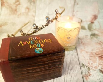 Up Inspired Luxury Wedding Ring Box  / Double Ring Box / Engagement  / Proposal / Disney Wedding Theme