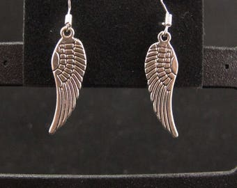 Christmas Angel Wing Earrings
