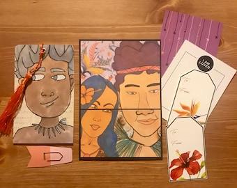 Mini pocket folder insert for junk journal, smash book, travel journal, etc...