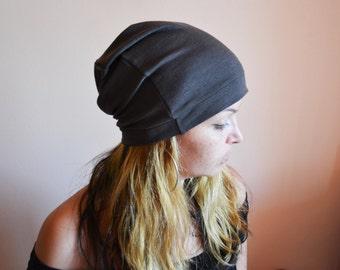 CHOCOLATE BROWN Slouchy Beanie Hat Brown Beanie Knitted Beanie Hats Knitted Hats Unisex Hats Brown Slouchy Beanie Hat Knitted Girls Hats