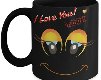 Black Mug for you who are in love with life