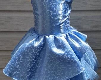 Cinderella Inspired Dress, Princess, Disney Dress, Costume, Pageant Dress