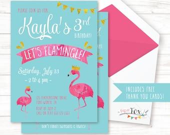 Flamingo pool party birthday invite flamingo party flamingo birthday invitation flamingo party invitation lets flamingle pool party invitation pool birthday invitation printable filmwisefo