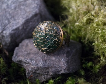 Blue Dragon egg Ring