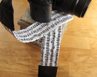 Musical Note Camera Strap