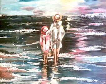 To the Sea - Original Painting