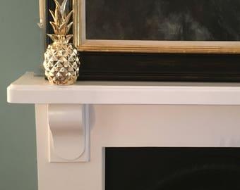 Gold Modern Designer Pineapple Ornament