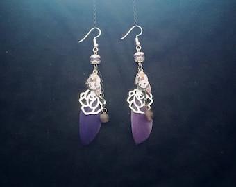 Twilight Sparkle earrings feather