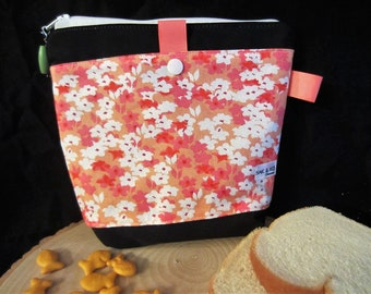 Sandwich and snack/2 pockets bag