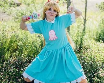 Star Butterfly Disney Princess Cosplay Costume Dress
