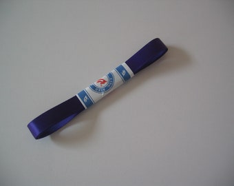 10mm wide x 1 m long purple color satin ribbon