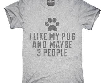 Funny Pug T-Shirt, Hoodie, Tank Top, Gifts