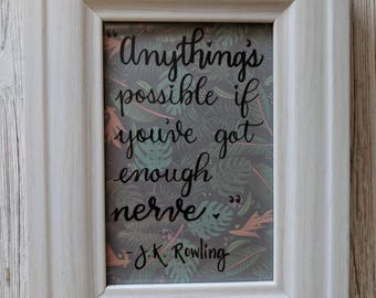 J.K. Rowling quote