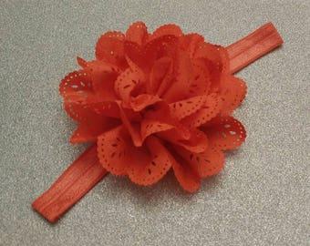 Orange Baby Headband - The Sophia Collection