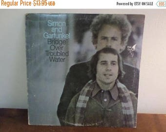 Save 30% Today Vintage 1973 LP Record Simon and Garfunkel Bridge Over Troubled Water Excellent Condition 360 Stereo 15039