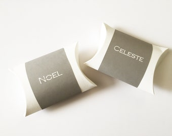 Pillow Box Placecards