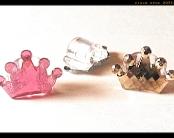 Tube Trinkets: Crystal like Princess Crowns!