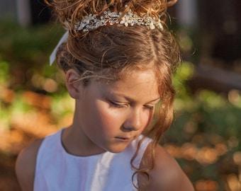 First Communion Hair Vine