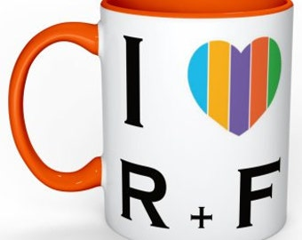 Rodan and Fields Mug / Rodan + Fields Coffee Mug / Rodan and Fields Products / I Love R + F / Microwave & Dishwasher Safe