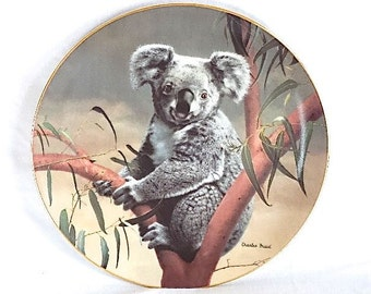 The Koala Nature's Lovables Charles Frace 90s 1st Issue WJ George Fine China Ceramic 8.5in