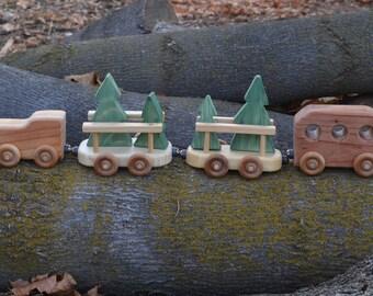 Christmas Tree Train Redwood Pine