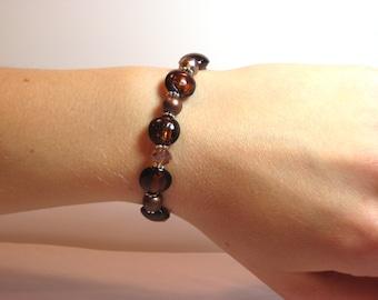 Amber - Interchangeable Beaded Watch Band