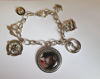 Taboo inspired charm bracelet