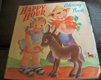 happy hour  coloring book  1946