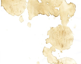 Digital Download - Coffee Stained Paper - Scrapbooking