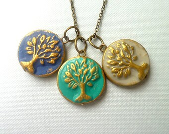 Tree Necklace Tree Pendant Tree of Life Necklace Family Tree necklace Gondor Tree Mothers Day Gift Nana Gift Mommy Gift Unique Tree Jewelry
