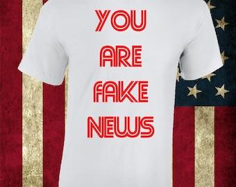 Funny Parody CNN Fake News t-shirt