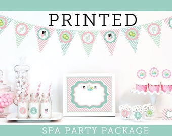Spa Party Decorations Girls Spa Party Decorations Girls Spa Birthday Party Kids Spa Party Ideas Spa Party in a Box Spa Party KIT (EB4000SPA)