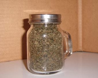 Dried Catnip in MIni Mason Jar, Vermont Grown!