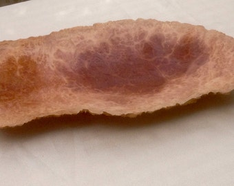Hand carved Red Mallee burl