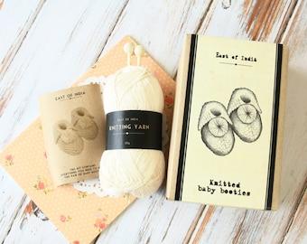 DIY Make Your Own BABY BOOTIES craft kit