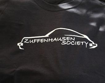 Zuffenhausen Society Mens Fitted Tee (Black)