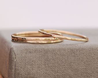 14K Gold Filled Ring|Gold Filled Ring|Thin Gold Ring|Textured Gold Ring|Gold Ring|Minimalist Ring|Gold Minimalist Ring|Gold Stacking Ring