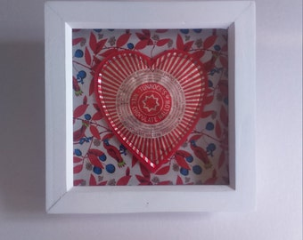 Tunnocks Foil Wrapper Framed Artwork Designed and Created by mylittlesweethearts.
