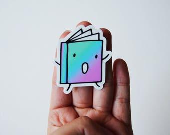 Fiction Book Sticker