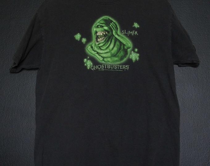 Ghostbusters Slimer Glow in the Dark 1984 vintage Tshirt