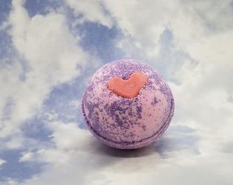 Heart Desired Bath Bomb   Handmade Bath Fizzer   iBeautyGifts