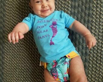 Mermaids Don't Wear Pants tee